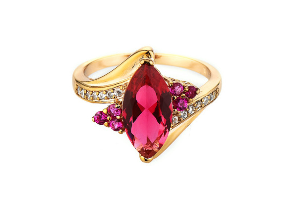 Ruby Horse Eye Ring 14k Yellow Gold Men/women Antique Ring Wedding Party Christmas Gift