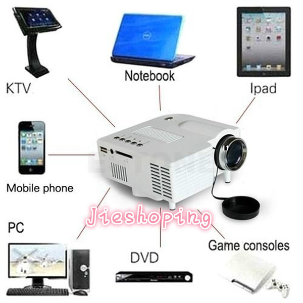 Picture of Jieshoping I3c Full Hd 1080p Projector Home Theater Systems Led Mini Portable Projector Cinema Usb Tv Vga Sd Av