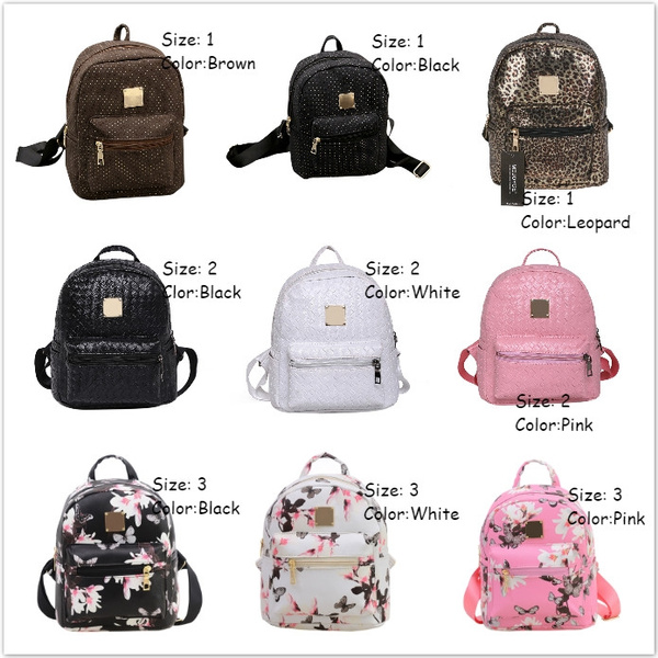 Picture of Fashion Printing Pu Leather Travel Cute Small Backpack