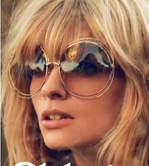 Picture of New Big Round Frame Sunglasses Bicyclic Female Fashion Personality Oculos Feminino Sun Glasses Fo Women