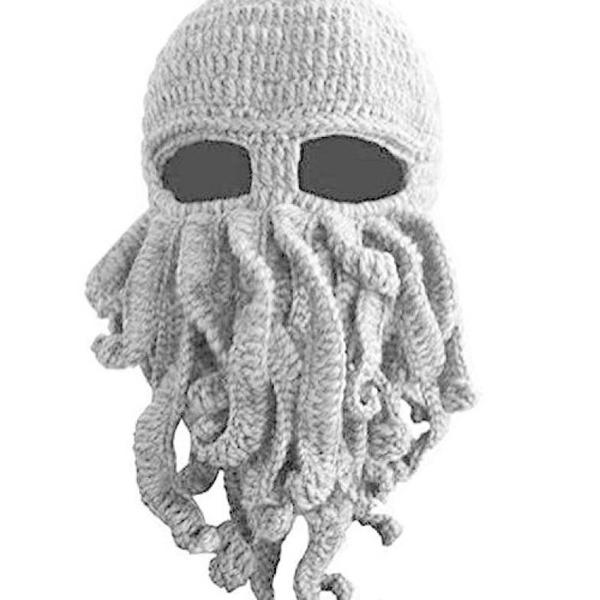 9f65214eb77f8 Tentacle Octopus Cthulhu Knit Beanie Hat Cap Wind Ski Mask  lil