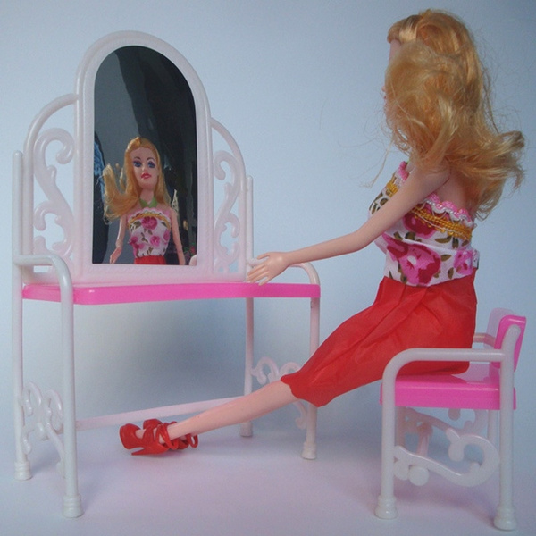 pink, Mini, Toy, Dollhouse