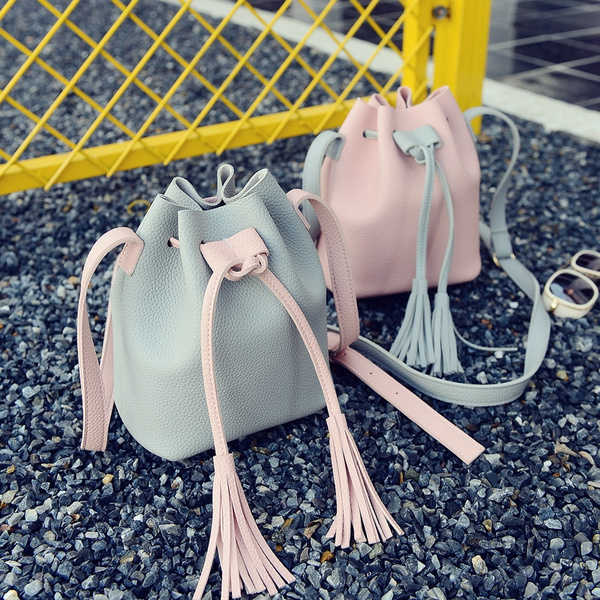 Picture of The New Trend Handbags Korean Pu Solid Color Picture Package Portable Shoulder Bag Wild Women Packet