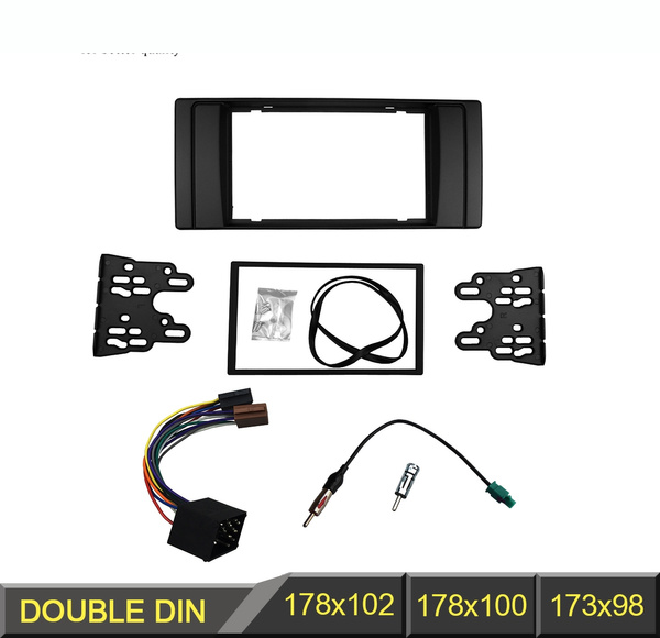 e39 radio wiring double din fascia for bmw 5 series e53 e39 radio dvd stereo panel  bmw 5 series e53 e39 radio dvd stereo