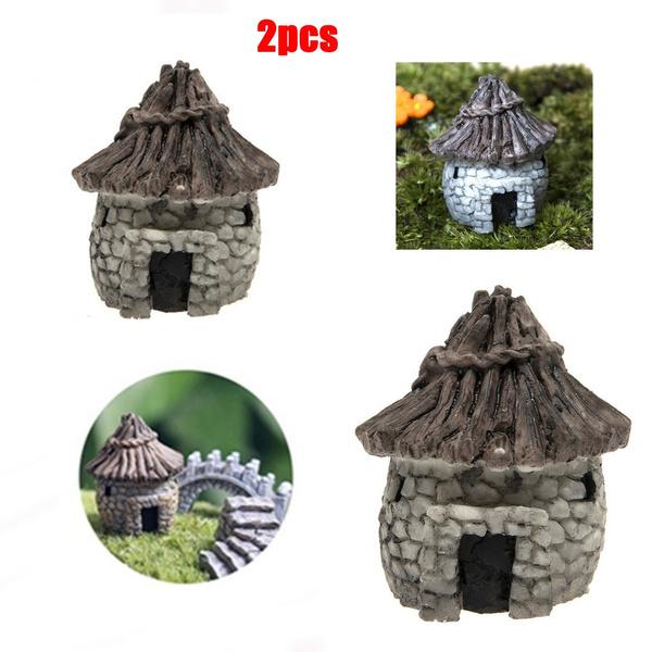 Bonsai, stonehouse, miniaturegarden, Home Decor