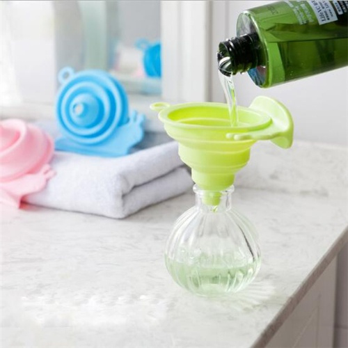 Snails Funnel Small Silicone Beer/Wine/Oil/Cosmetics Collapsible Funnel Cooking/Makeup Tools Supplies Products