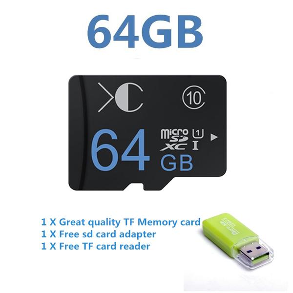 8gb16gb32gb64gbtfandroid, Consumer Electronics, 64gbtfcard, Memory Cards