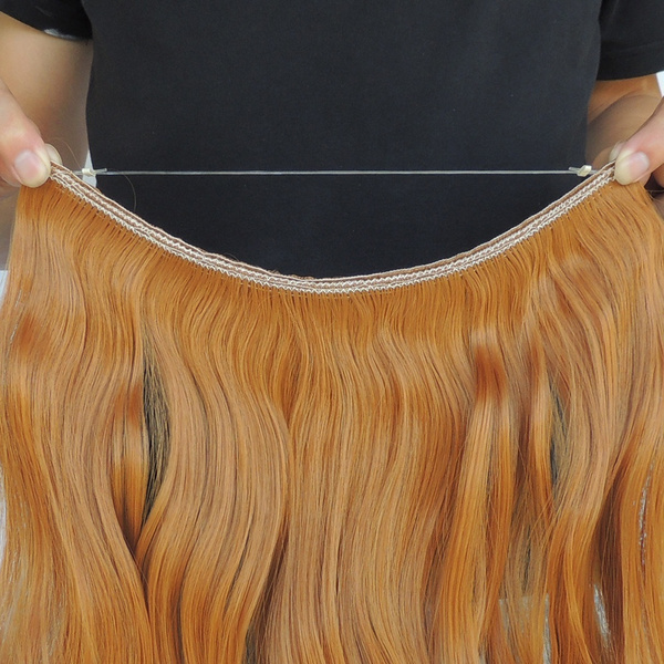 Wish Secret Hair Extensions Cabelo Human Hair Extension Wire Halo