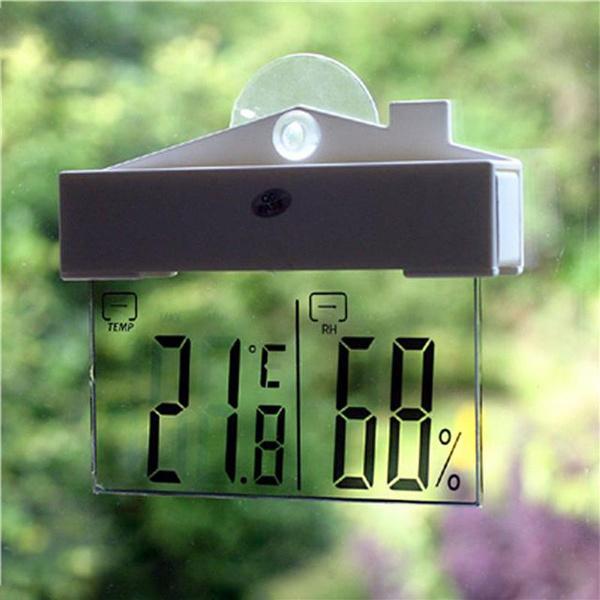 Creative Led Digital Window Thermometer