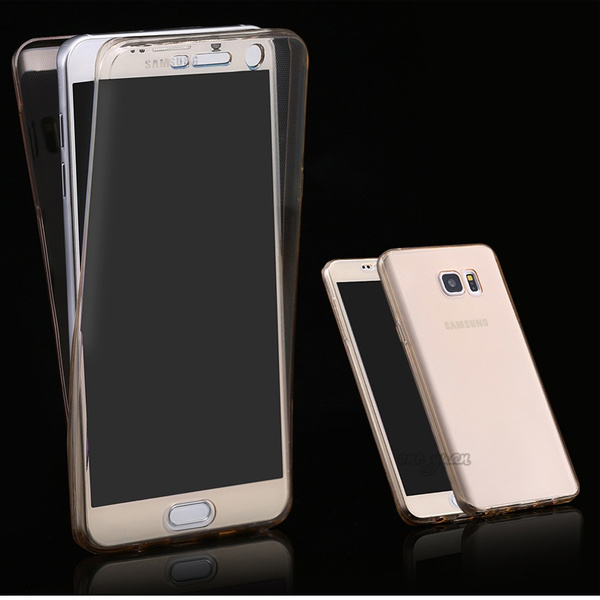 another chance 373c7 30c53 S7/S7 Edge Clear Flexible Soft TPU Case Cover For Samsung Galaxy S7 Edge  360 Degree Full Body Protection Phone Cases Accessories