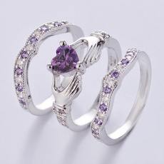 claddaghring, Heart, Fashion, 925 sterling silver