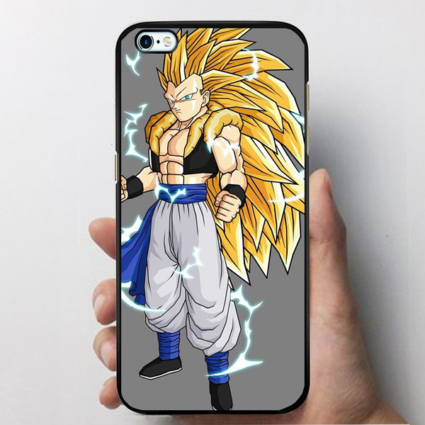 Dragon Ball Z Iphone 6 Case,Gotenks Ssj4 Case for Iphone/Samsung Hard  Plastic Phone Cases Covers