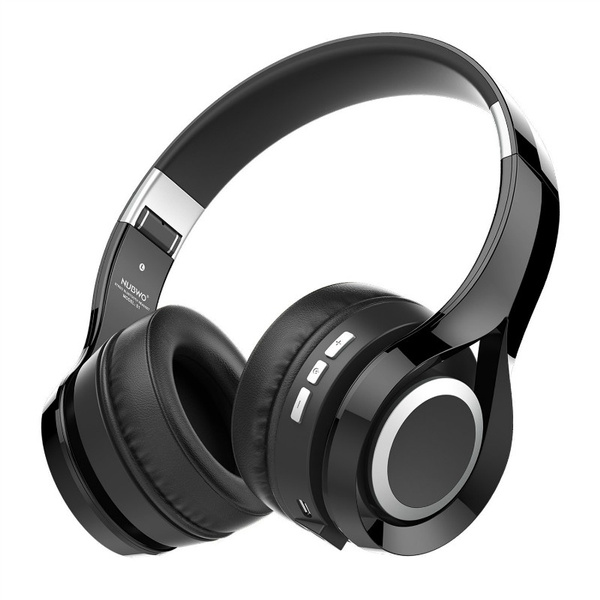 Nubwo S1 Stereo Bluetooth Headset With Microphone Foldable Over Ear Wireless Headphones With Hd Sound For Iphone Ipod Ipad Smartphone Tablet Pc Wish