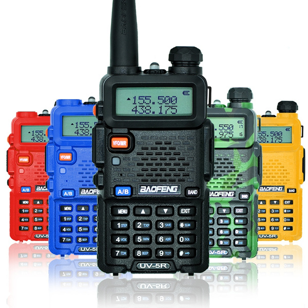 Picture of Baofeng Uv-5r Vhf/uhf Mhz Dual-band Ctcss Walkie Talkies Two-way Eu Adapterfive Color