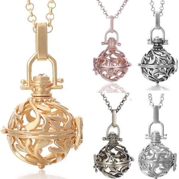 musicalchimeball, Jewelry, Chain, mexcianbolapendant