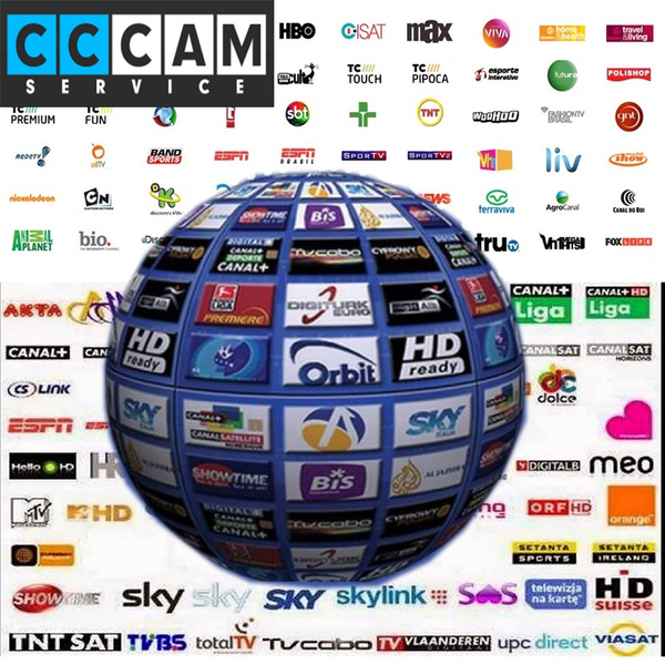 Sale 1 year Europe CCCam Cline server Receiver SPAIN UK French Germany  cccam 3 cline rca cable