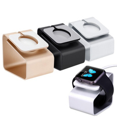 Aluminum Charging Stand Station Holder for Smart Watch / iWatch 38mm / 42mm
