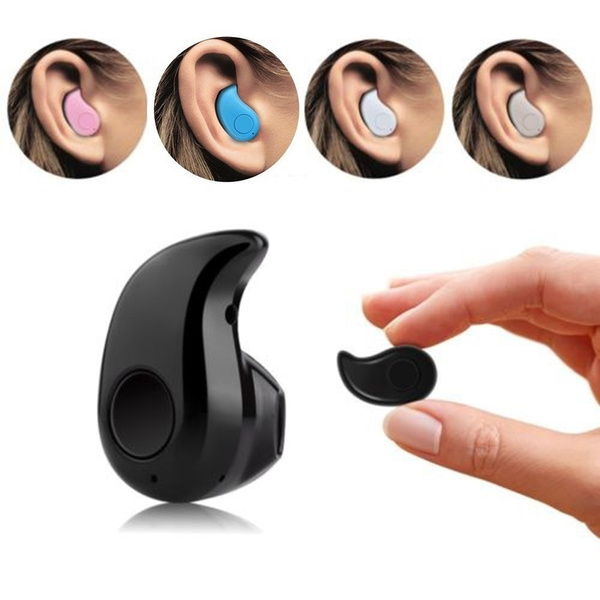 Picture of Smallest Wireless Invisible Bluetooth Mini Earphone S530 Earbuds Headsets Headphones Support Heads-free Calling For All Smartphone