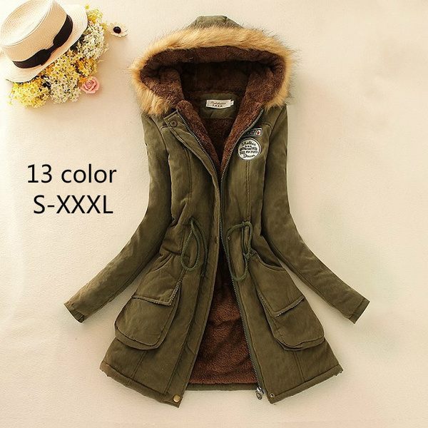 Clothes, hooded, Winter, manteaufemmehiver