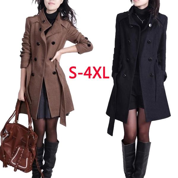 casual coat, woolen coat, Fashion, Outerwear