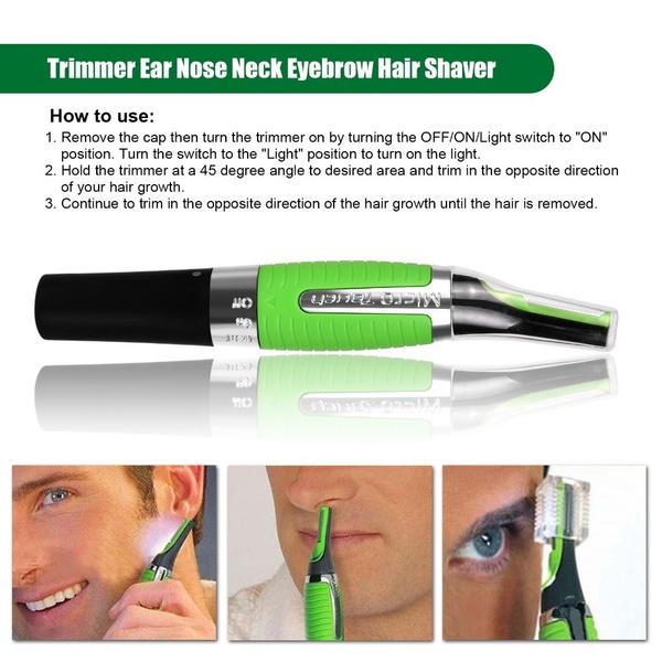 Wish Bi9uq 0818 Micro Shaver Afeitar Barbeador Eletrico Asoir