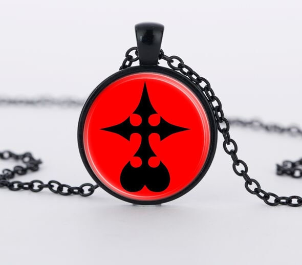 Wish Kingdom Hearts Nobody Emblem Symbol Glass Round Jewelry