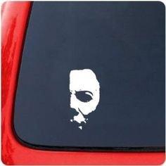 "6/"" Michael Myers Halloween Horror Vinyl Decal Sticker"