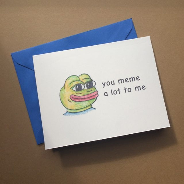 57b715f2a284ca4125a9a37f large?cache_buster=d9f786e2f1d89408b5f4e67df7d5f17b wish you meme a lot to me blank card with envelope