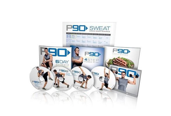 Tony Horton's P90 Base Kit New DVD Workout - 4 DVDs