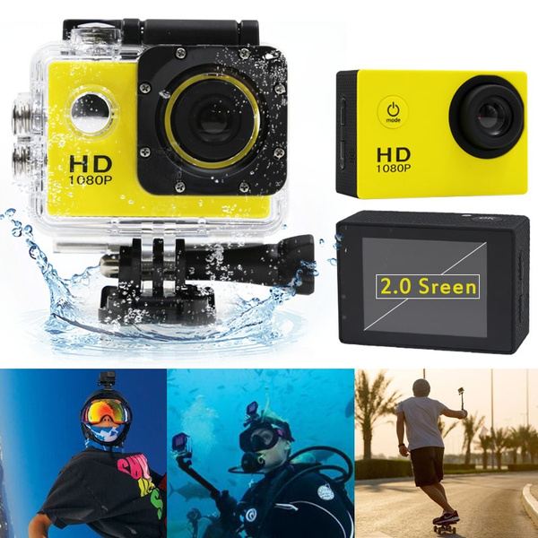 Picture of Sj4000 Sports Hd Dv 2-inch Screen 1080p Mini Cam Waterproof 30m Action Camera