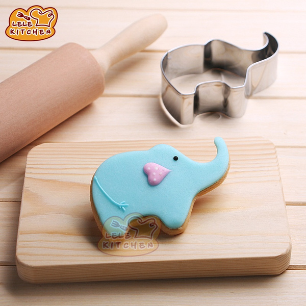 cutterdecorating, cute, cuteelephant, Stainless Steel