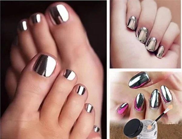 1g/box Nail Art Shinning Chameleon Mirror Nail Glitter Powder Gorgeous Nail Art Chrome Pigment Glitters(12 color options)