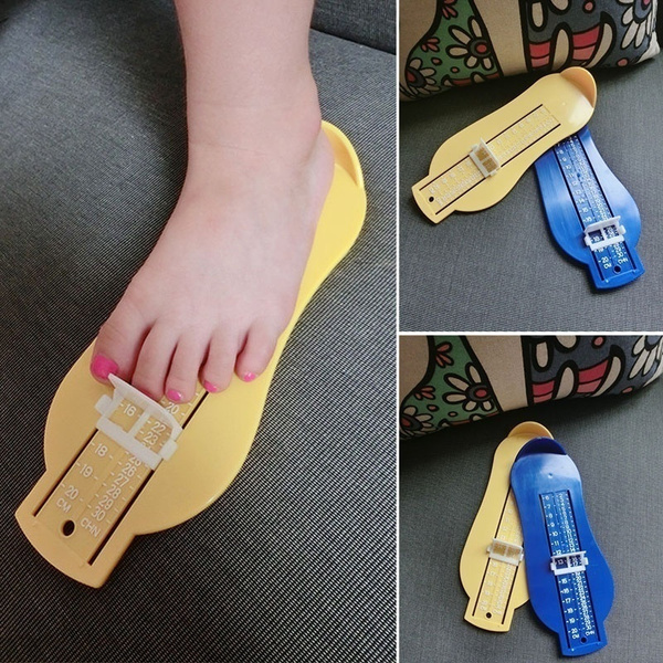 Children Shoe Sizer Toddlers Kids Handy Foot Measure for Ordering Shoes