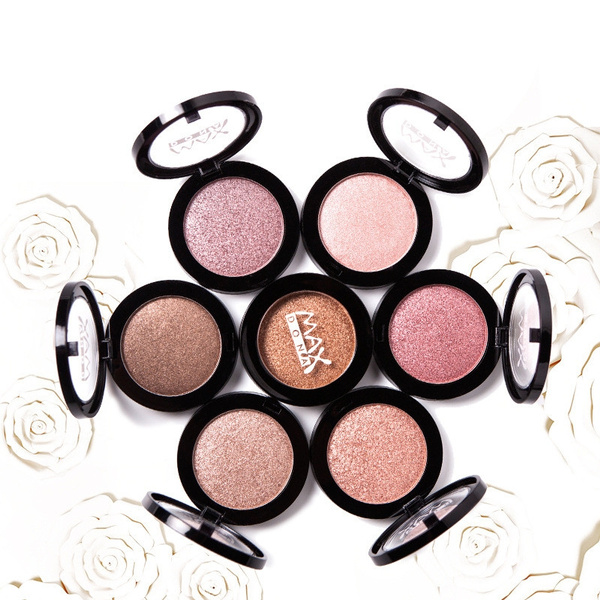 Picture of Women's Fashion Charming Eyeshadow/blush Single Color Makeup Accessories Cosmetic Face Eye Shadow Cheek Blush Jh2301
