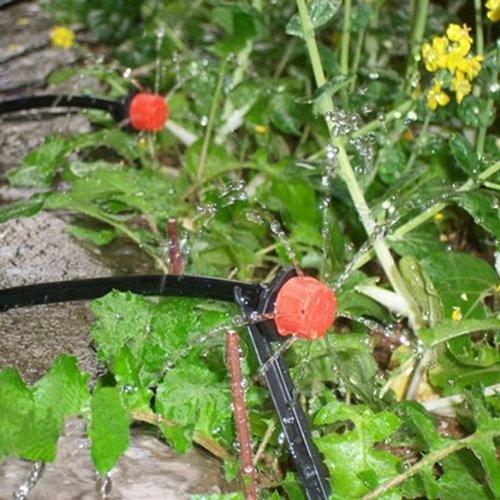 50x irrigation system garden hose Gardena irrigation hose sprinkler Black +  Red