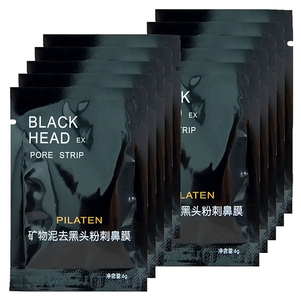 10 Bags Mineral Black Mud Nose Removal Blackheads Acne