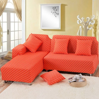 Wish 1 Pc Dream Polka Dot All Inclusive Slipcover Universal Sofa Sets Cover With Elastic 2 3 4 Seat