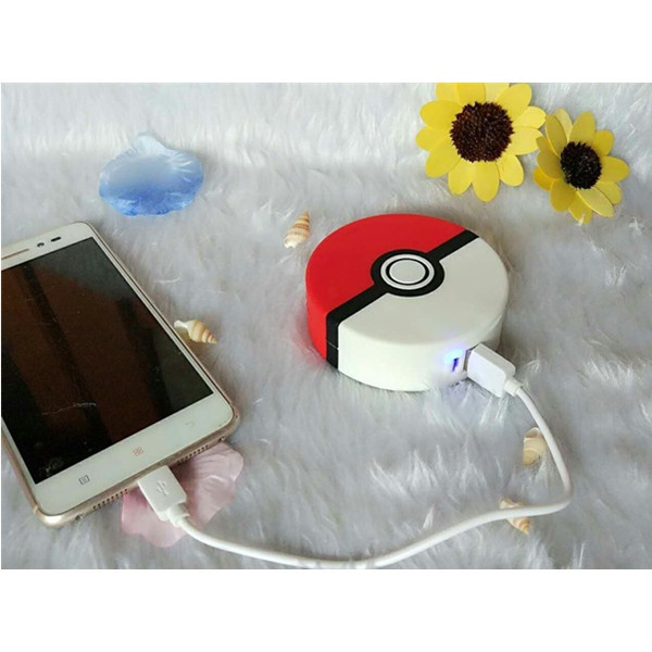 Picture of 3d Pokeball Power Bank Quick Charger 8800mah Usb External Backup Battery Charger Power Bank For All Phone