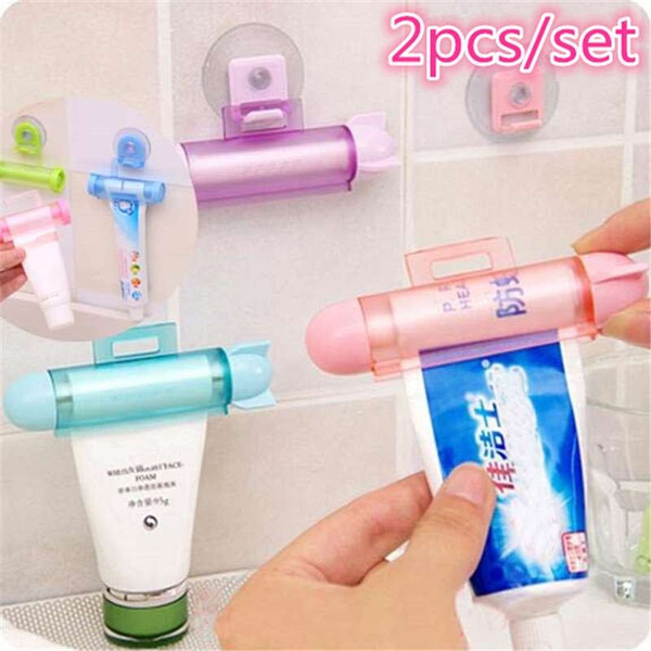 toothpastesqueezingdevice, toothpasteholder, Home & Living, sucker