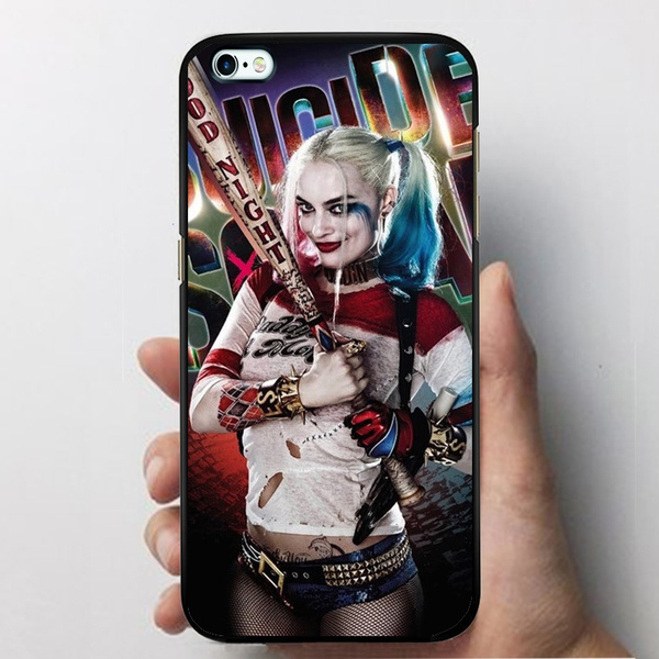 Harley Quinn Iphone 5 5s Case, Designed Margot Robbie Suicide Squad Cover Case For Iphone 6 6s Hard Plastics Phone Case by Wish