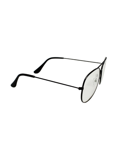 Vintage Retro Classic Metal Aviator Clear Lens Glasses Unisex Men Women Fashion Eyewear Sunglasses