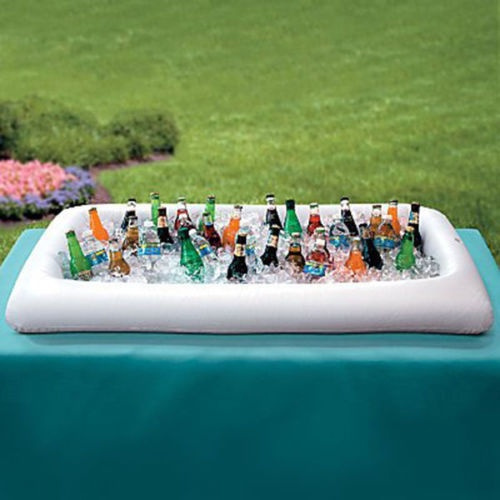 Wish Inflatable Serving Salad Bar Buffet Picnic Drink Table Cooler Party Soda Outdoor