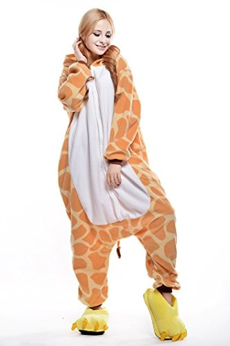 wish unisex giraffe pyjamas halloween costume onesies