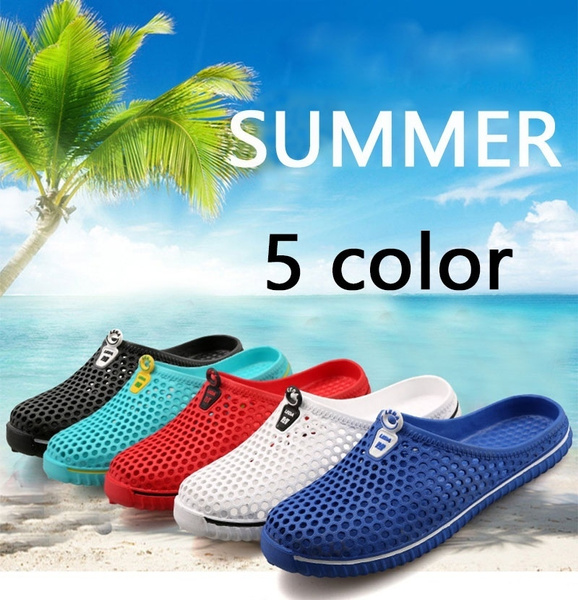 Picture of Men And Women Slippers Flats Shoes Sandals Shoes Hollow Shoes Travel Outdoor Lovers' Leisure Slipperssize36-45