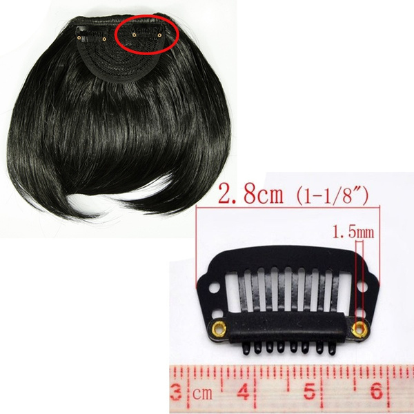 Wish Clip In Bangs Fake Hair Extension Hairpieces False Hair Piece
