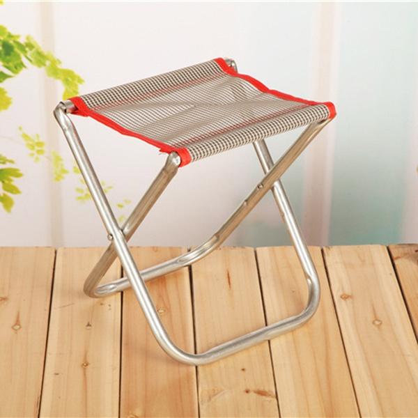 Magnificent Portable Folding Metal Step Stool Footstool For Fishing Hiking Camping Caraccident5 Cool Chair Designs And Ideas Caraccident5Info