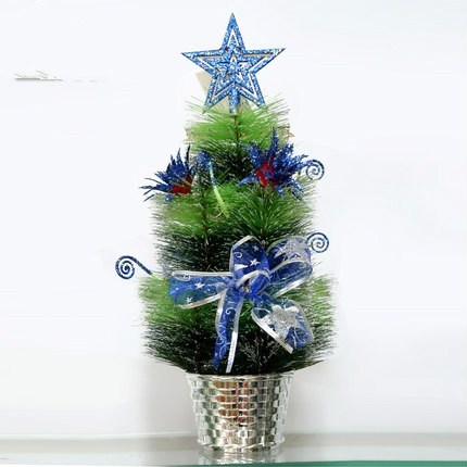 wish new 40cm christmas decorations table decoration furnishing articles small miniature christmas tree