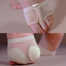 Women Dance Gym Protector Dance Paws Foot Thongs Toe Undies Half Lyrical Shoes