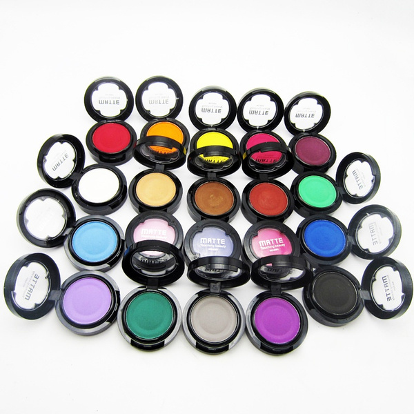 Picture of Professional 20 Color Waterproof Retro Metallic Pigment Matte Eyeshadow Powder Palette