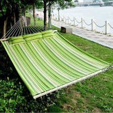 Outdoor, portable, camping, hammocksampswing